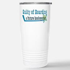 guilty of boarding Travel Mug