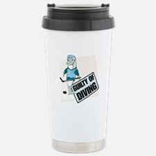 guilty of diving Stainless Steel Travel Mug