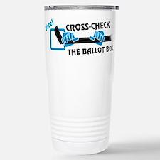 cross-check Stainless Steel Travel Mug