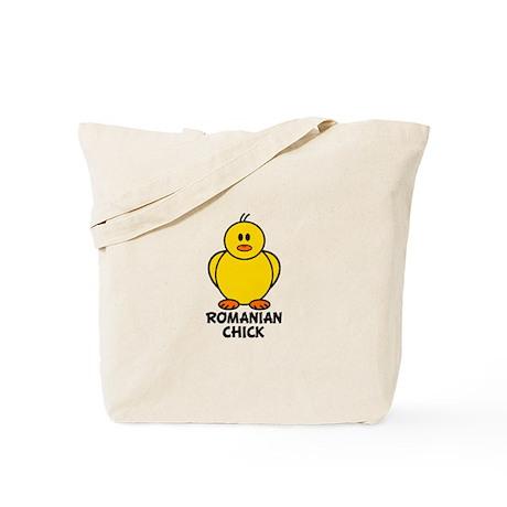 Romanian Chick Tote Bag