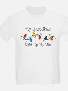 Grandkids Light My Life T-Shirt