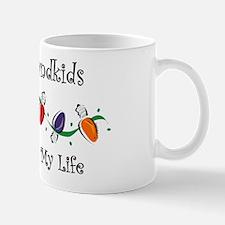 Grandkids Light My Life Mug