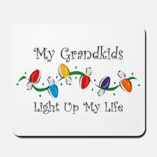 Grandkids Light My Life Mousepad