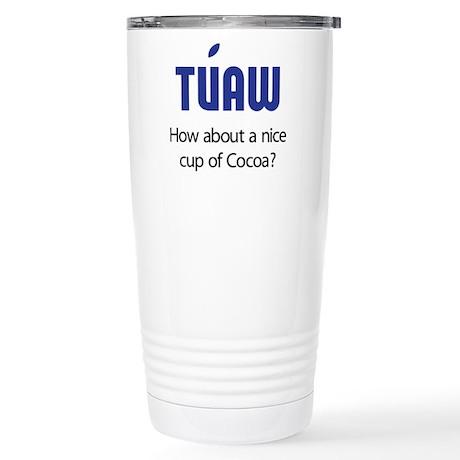 TUAW Stainless Steel Travel Mug