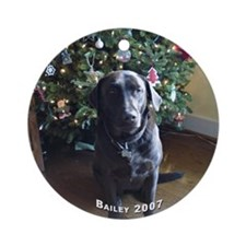 Bailey 2007 Ornament (Round)