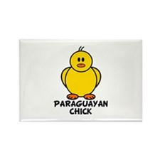 Paraguayan Chick Rectangle Magnet