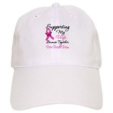 Breast Cancer Support (Wife) Baseball Cap