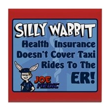 Joe Medic Taxi Service Tile Coaster
