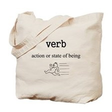 Verb Tote Bag