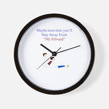 ~My Edward 001 ~ Wall Clock