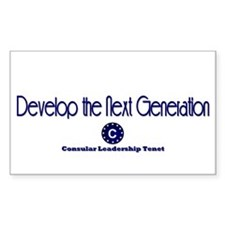 DP-Develop the Next Generation Rectangle Decal