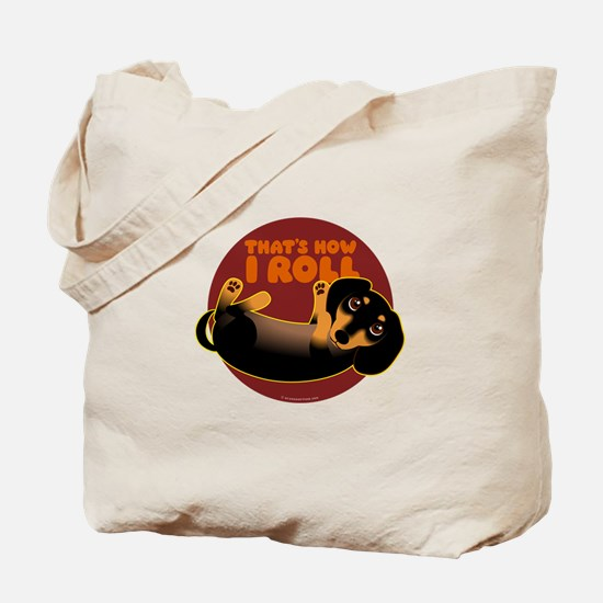 HOW I ROLL Doxie Tote Bag