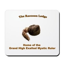 Raccoon Lodge Mousepad