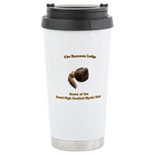Raccoon Lodge Travel Mug