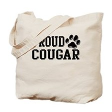 Proud Cougar Tote Bag