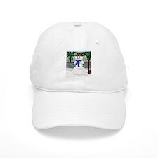 ISLAND SNOWMAN Baseball Cap