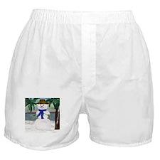 ISLAND SNOWMAN Boxer Shorts