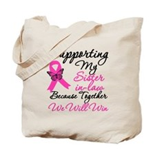 Breast Cancer Sister-in-Law Tote Bag