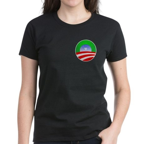 Obama Christmas Women's Dark T-Shirt