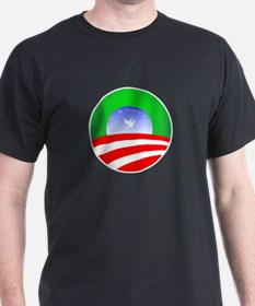 Obama Holiday Christmas T-Shirt (Dark)