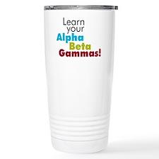 Alpha Beta Gammas Travel Mug