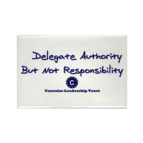 DP-Delegate Authority Rectangle Magnet (10 pack)