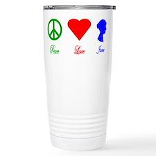 Jane Austen Travel Coffee Mug