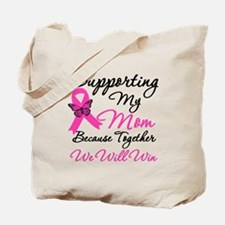 Breast Cancer Support Mom Tote Bag