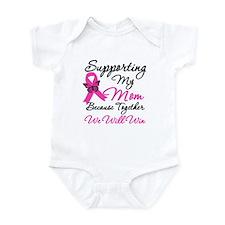 Breast Cancer Support Mom Infant Bodysuit