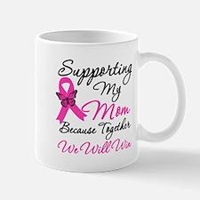 Breast Cancer Support Mom Mug
