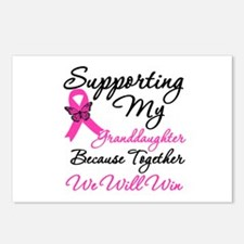 Breast Cancer Granddaughter Postcards (Package of