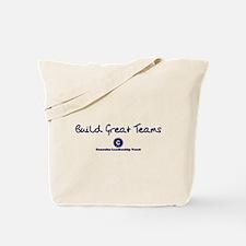 Build Great Teams Tote Bag