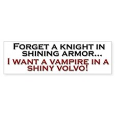 Shiny Volvo Bumper Bumper Sticker