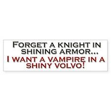 Shiny Volvo Bumper Sticker