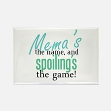 Mema's the Name Rectangle Magnet