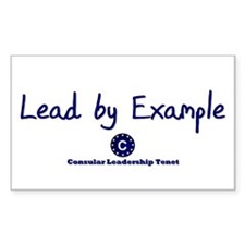 DP-Lead by Example Rectangle Decal