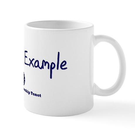 DP-Lead by Example Mug
