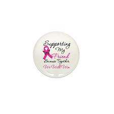 Breast Cancer Friend Mini Button (10 pack)