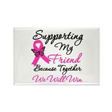 Breast Cancer Friend Rectangle Magnet