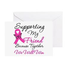 Breast Cancer Friend Greeting Card