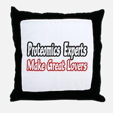 """Proteomics...Great Lovers"" Throw Pillow"