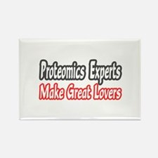 """Proteomics...Great Lovers"" Rectangle Magnet"