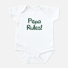 Pepa Rules Onesie