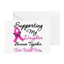 Breast Cancer Daughter Greeting Card