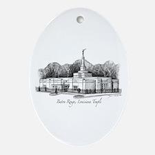 Baton Rouge, Louisiana Temple Oval Ornament