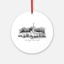 Baton Rouge, Louisiana Temple Ornament (Round)