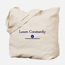 Learn Constantly Tote Bag