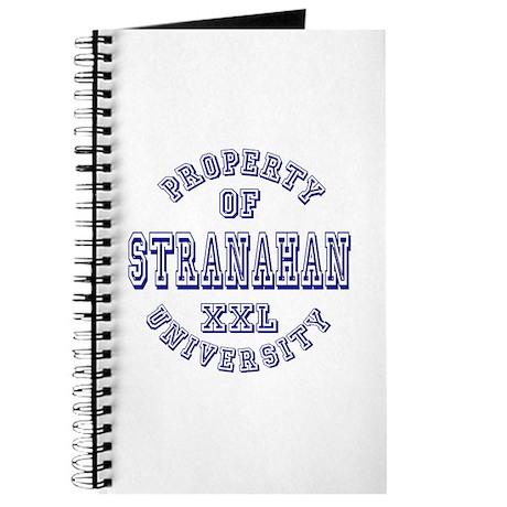 Property of Stranahan University Journal
