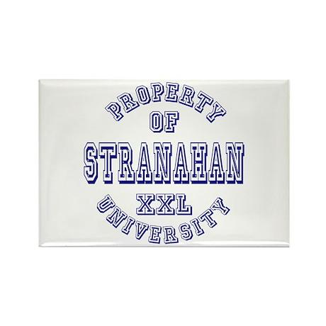 Property of Stranahan University Rectangle Magnet