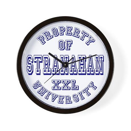 Property of Stranahan University Wall Clock